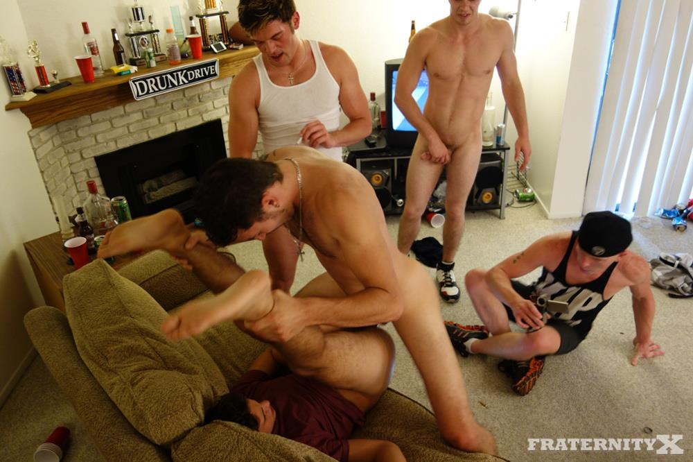 Fraternity X Dylan Frat Boys Barebacking The House Slut Amateur Gay Porn 17