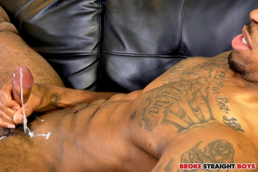 Broke Straight Boys Brice Jones Black Big Uncut Cock Jerk Off Amateur Gay Porn 21
