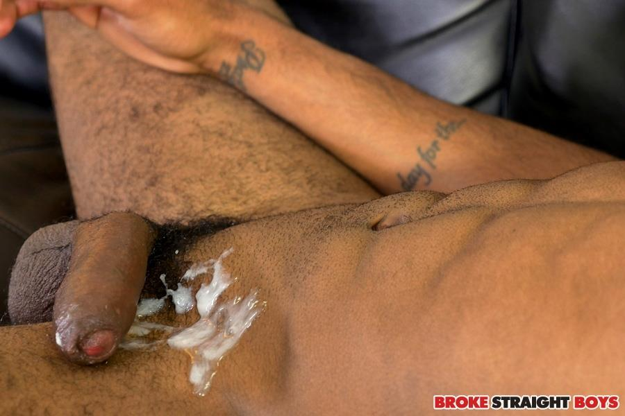 Broke Straight Boys Brice Jones Black Big Uncut Cock Jerk Off Amateur Gay Porn 27