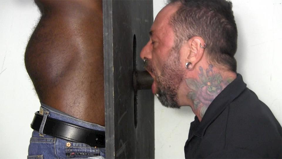 Straight Fraternity Tyler Big Black Uncut Cock At The Gloryhole Amateur Gay Porn 03