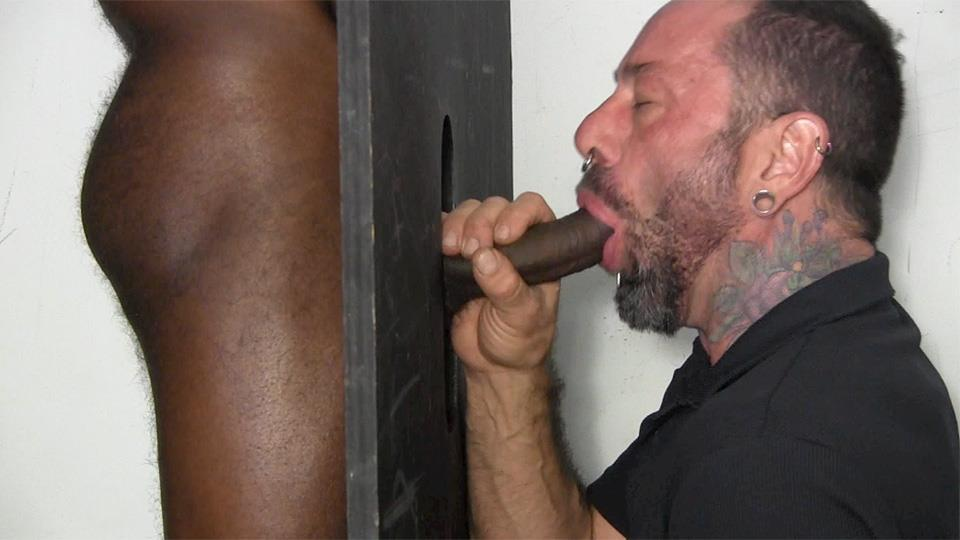 Straight Fraternity Tyler Big Black Uncut Cock At The Gloryhole Amateur Gay Porn 05