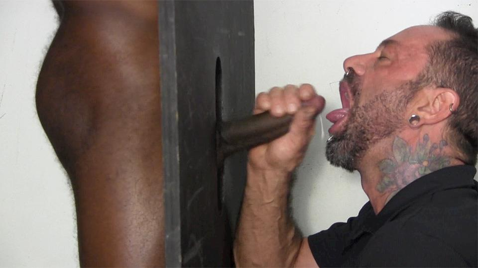 Straight Fraternity Tyler Big Black Uncut Cock At The Gloryhole Amateur Gay Porn 10