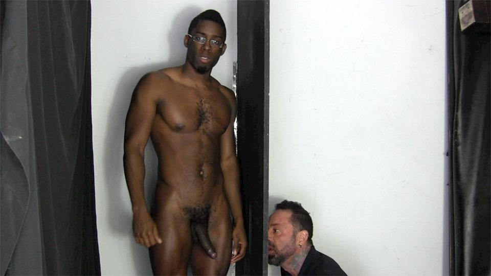 Straight Fraternity Tyler Big Black Uncut Cock At The Gloryhole Amateur Gay Porn 14
