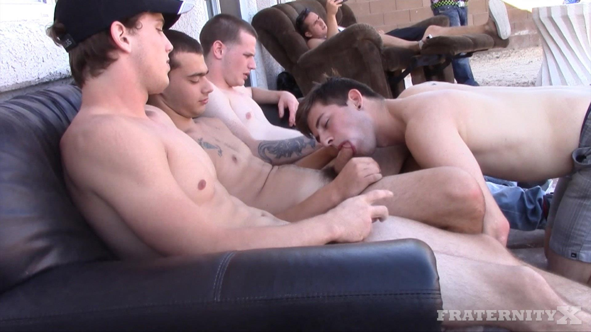Fraternity X Frenchy Naked Frat Guys Barebacking Outside Big Dicks Amateur Gay Porn 04 Fraternity Boys Fucking Bareback Outside On The Frat Patio