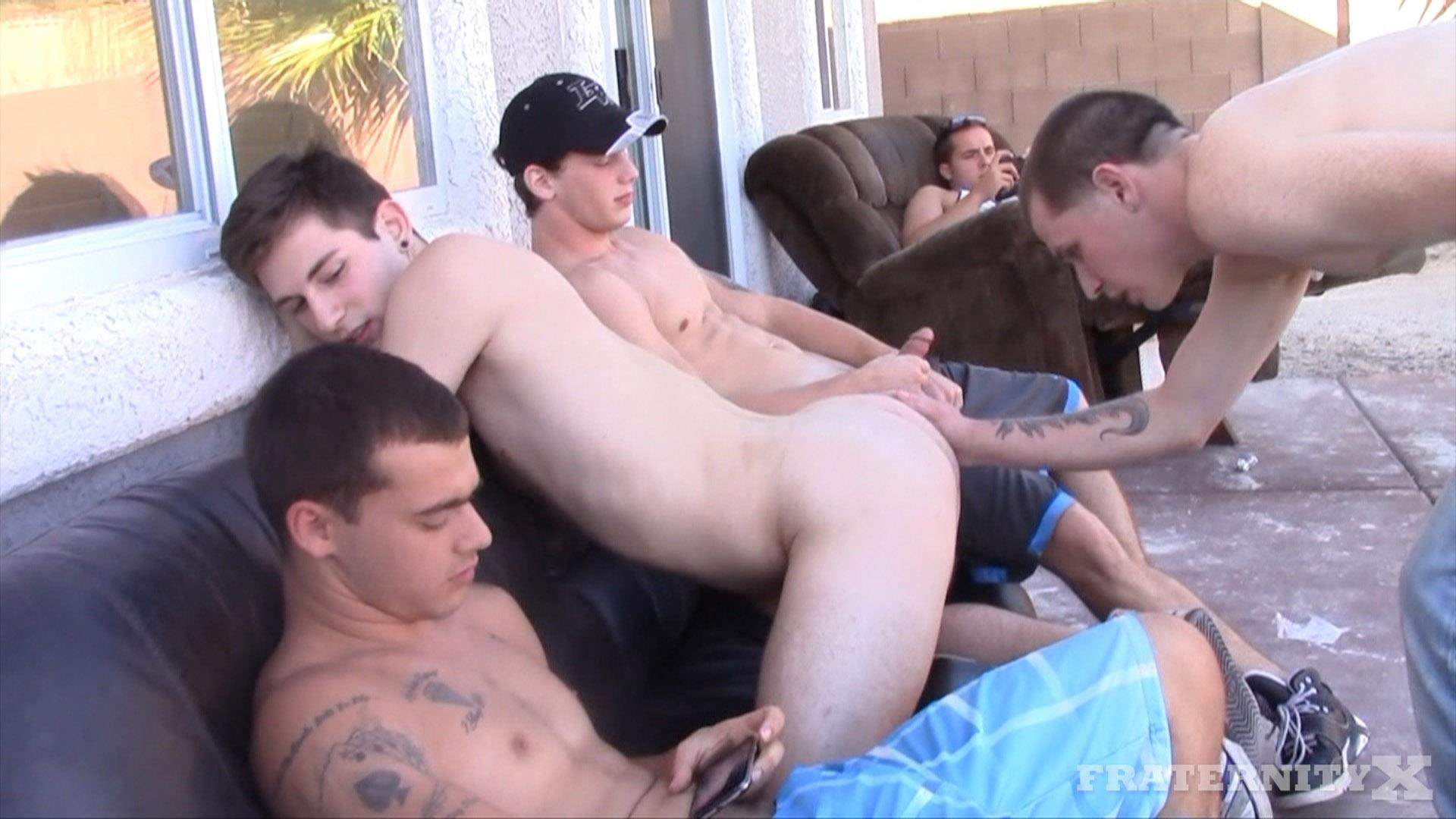 Fraternity X Frenchy Naked Frat Guys Barebacking Outside Big Dicks Amateur Gay Porn 05 Fraternity Boys Fucking Bareback Outside On The Frat Patio
