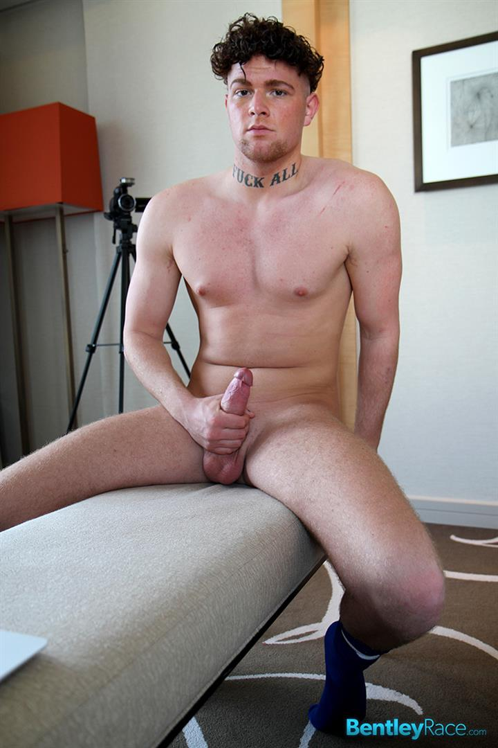 Bentley Race Brock Wyman Young Beefy German With A Big Uncut Cock Masturbation Amateur Gay Porn 14