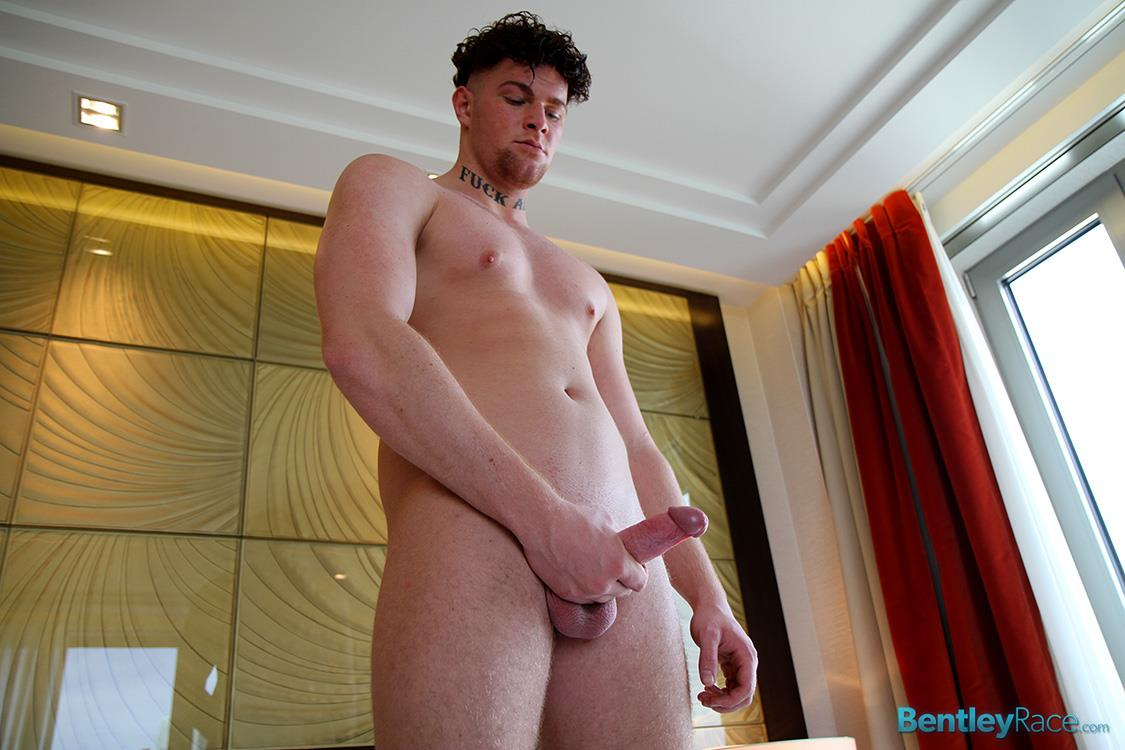 Bentley Race Brock Wyman Young Beefy German With A Big Uncut Cock Masturbation Amateur Gay Porn 20
