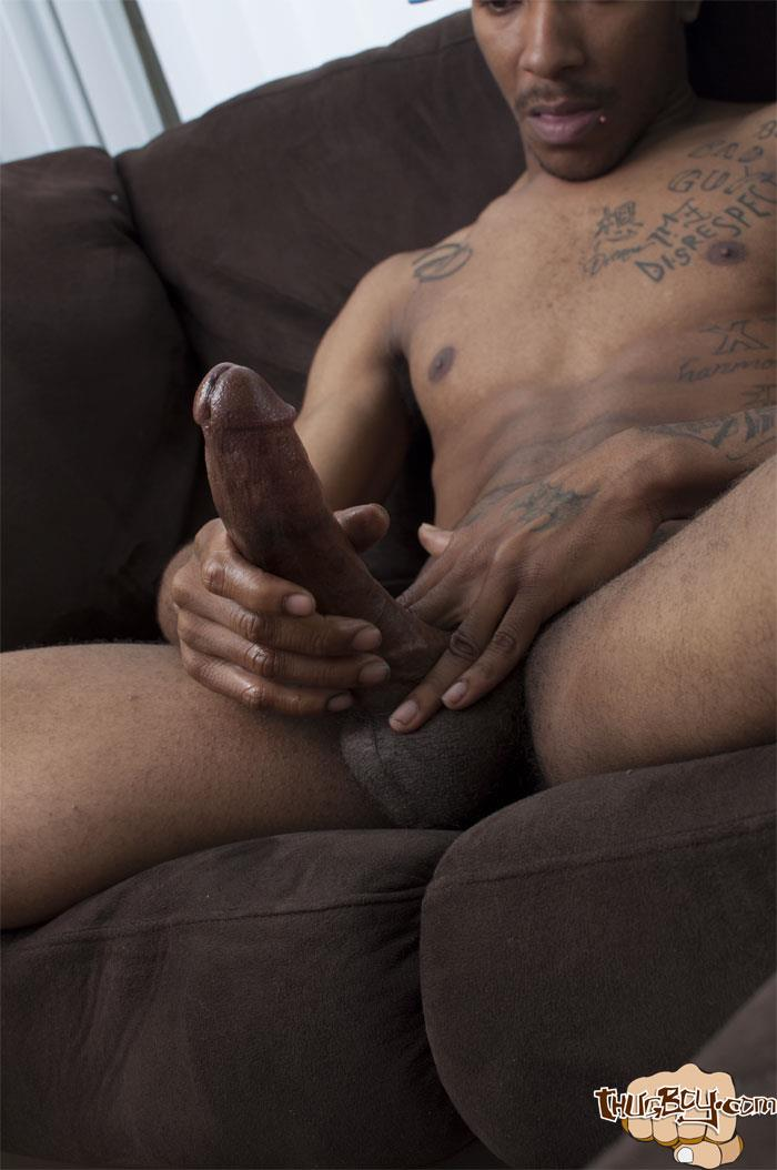 Big Black Dick Long Strokes