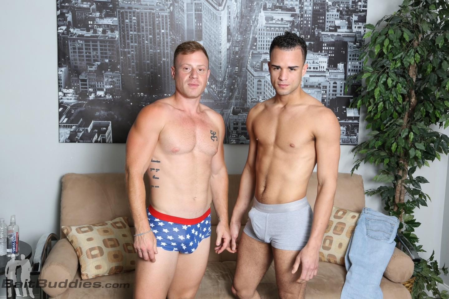 Bait Buddies Saxon and Javier Cruz Straight Ginger With Thick Cock Amateur Gay Porn 03
